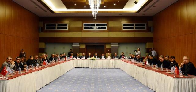 Urfa'lı işadamları Antalya'da
