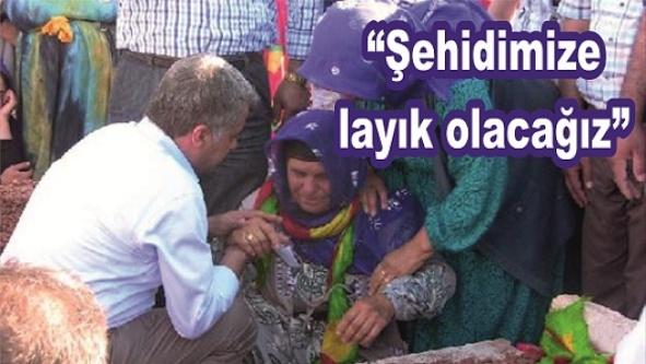 Milletvekili PKK'lının cenazesine katıldı