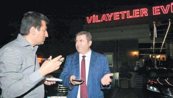 Urfa Müdürü Ankara'da konuştu...