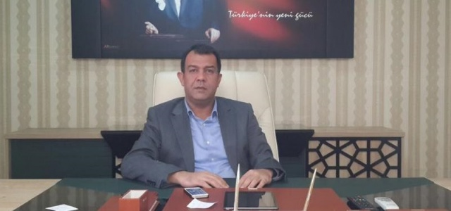 Urfa Şube Başkanından Başbakan Davutoğlu'na teşekkür