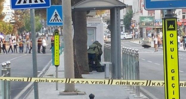 Urfa'da bomba alarmı!