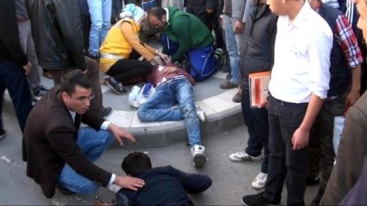 Urfa'da feci motosiklet kazası!