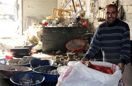 Urfa'da günlük 100 ton hurda toplanıyor