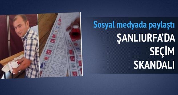 Urfa'da skandal!!!