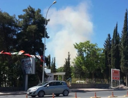 Urfa'daki tugayda patlama