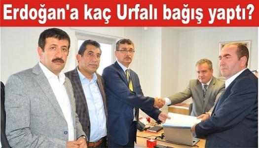 Urfa'dan Erdoğan'a destek