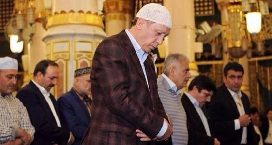 Urfalı Vekil, Cumhurbaşkanı'yla kutsal topraklarda