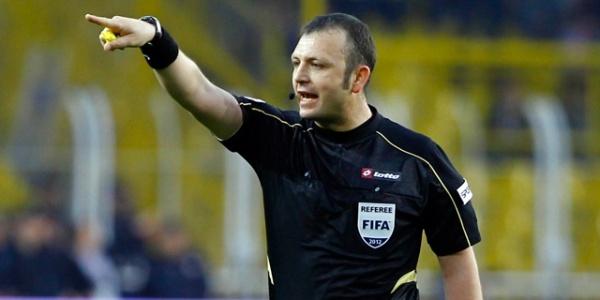 Urfaspor maçına FIFA kokartlı hakem!