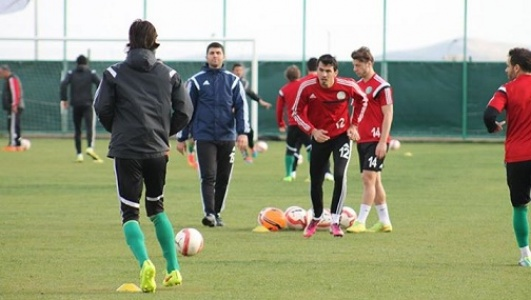 Urfa'da Samsunspor hazırlıklar sürüyor