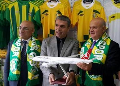Urfaspor'dan THY Başkanı'na teşekkür