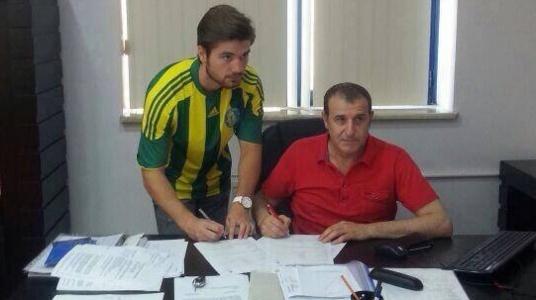 Urfaspor'la 2 yıllık sözleşme imzaladı