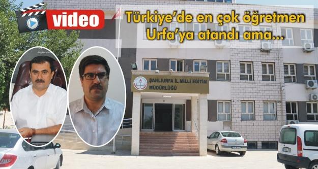 Urfa'ya 4 bin 661 öğretmen atandı!