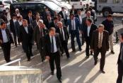 Ak Partili Milletvekillerinden Ceylanpınar'a Geçmiş Olsun Ziyareti
