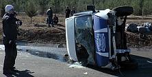 Urfa'da trafik kazası...