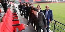 Faruk Çelik stadyumu açılıyor...