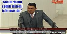 Özyavuz, TBMM'de Urfa'nın sorunlarını konuştu