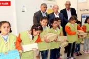 Suriyeli Öğrencilere Giysi ve Ayakkabı Yardımı Yapıldı