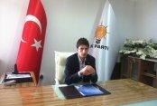 """AK Parti Gençlik Kollarına Flaş Aday """" Ayhan adaylığını açıkladı"""""""