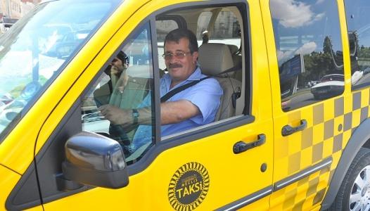 Urfa sokaklarında Taksici vekil