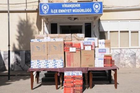 Viranşehir polisi kaçakçılara göz açtırmıyor