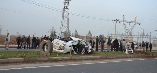 Viranşehir'de üzücü kaza