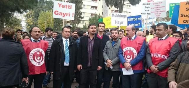 Yeni düzenlemeyi protesto ettiler