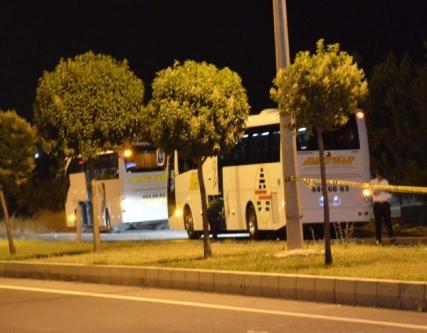 Yolcu otobüsünde bomba ihbarı
