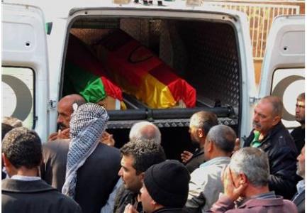 YPG'li Yusuf Eker'in Cenazesi Hilvan'da Defnedildi
