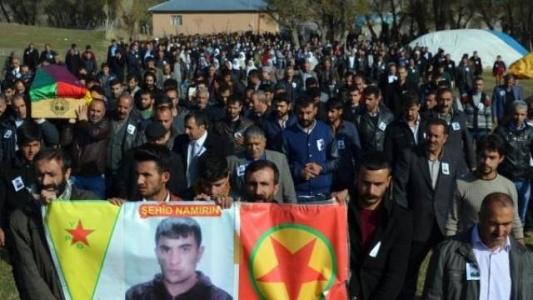 YPG'liyi binler uğurladı