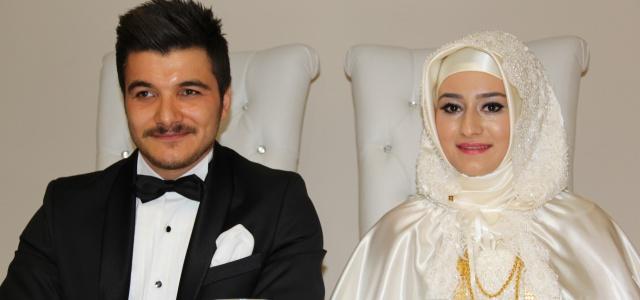 Zahit ve Aksoy ailesinin mutlu günü