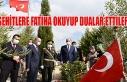 Urfa'da şehitlik anıtına çelenk bırakıldı