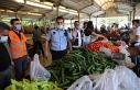 Haliliye'de semt pazarlarında sıkı denetim