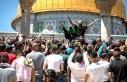 Kudüs'te Erdoğan sloganları yükseldi