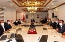 Urfa'da ki semt pazarları için olağan toplantı...
