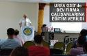 MYO uzman ekipleri seminer düzenledi