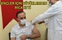 3. Doz aşısını olan Erin çağrıda bulundu