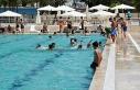Siverek'te yüzme havuzu yoğun ilgi gördü