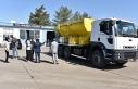 Siverek Belediyesi araç flosunu güçlendirdi