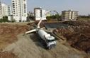 Siverek Belediyesinden yapımı devam eden camiye...