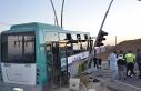 Urfa'da otobüs ile otomobil çarpıştı
