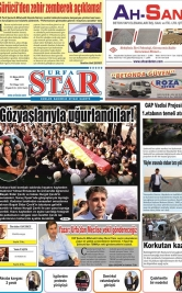 URFASTAR COM -Şanlıurfa Haberleri - 13.10.2015 Manşeti