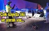 Antep yolunda korkunç kaza…