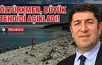 Atatürk Barajı'nda sular çekildi! Kuraklık kapıda