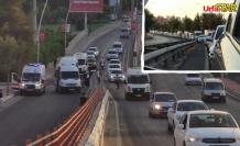Urfa'da 3 ayrı kaza trafiği felç etti