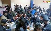 Hilvan'da yakalanan mültecilere belediye yardım etti