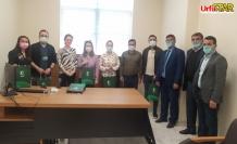 Urfa Yeşilay ekibinden AMATEM'e ziyaret