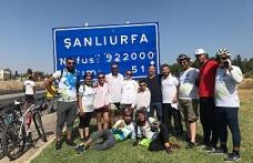 Göbeklitepe aşkına 1300 Km pedalladılar...