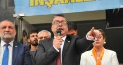 İYİ Parti Adayı Reşat Dağ seçim bürosu açılışı
