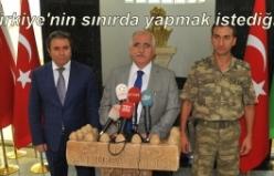 Şanlıurfa Valisi Güngör Azim Tuna'dan sınır açıklaması