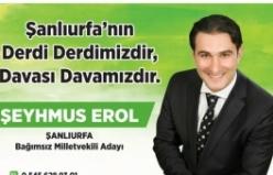 Bağımsız Milletvekili adayı Şeyhmus Erol'dan seçim beyannamesi